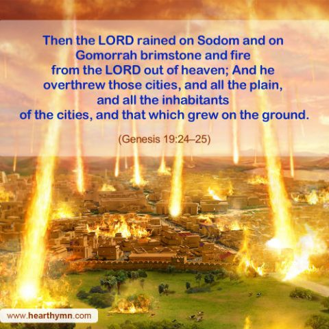 Genesis 19:24-25 - God's Wrath and Justice, Today's Bible Verse