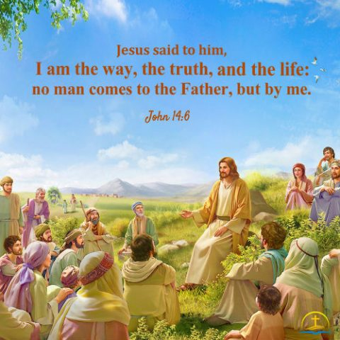 John 14:6 - Jesus Christ is the Way the Truth and the Life - Daily Bible Verse