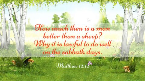 Matthew 12:12, Bible Verses about the Sabbath - In the Old and New Testament