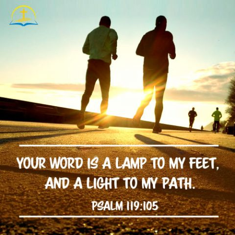 Psalm 119:105 - God's Word is a Lamp to My Feet - Bible Verses about the Word of God
