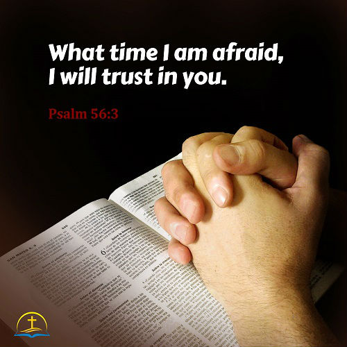 Psalm 56:3 - Trust God and Stop Being Afraid - bible verses about faith and trust in God