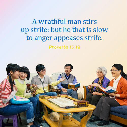 Proverbs 15:18 - Stop Being Angry and Avoid Strife, Bible Verse of the Day