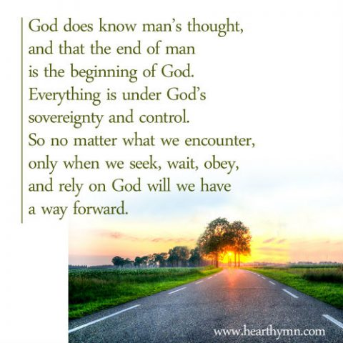 The End of Man is the Beginning of God