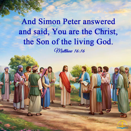 Matthew 16:16 -The Lord Jesus is the Christ, Daily Bible Verse