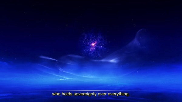 The One Who Holds Sovereignty Over Everything Scene