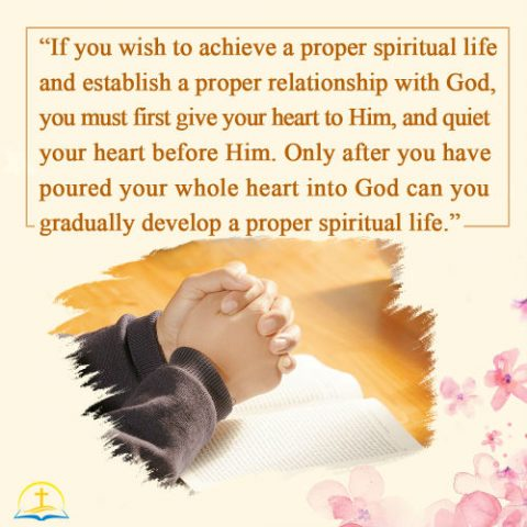 Turning Your Heart to God for a Normal Spiritual Life
