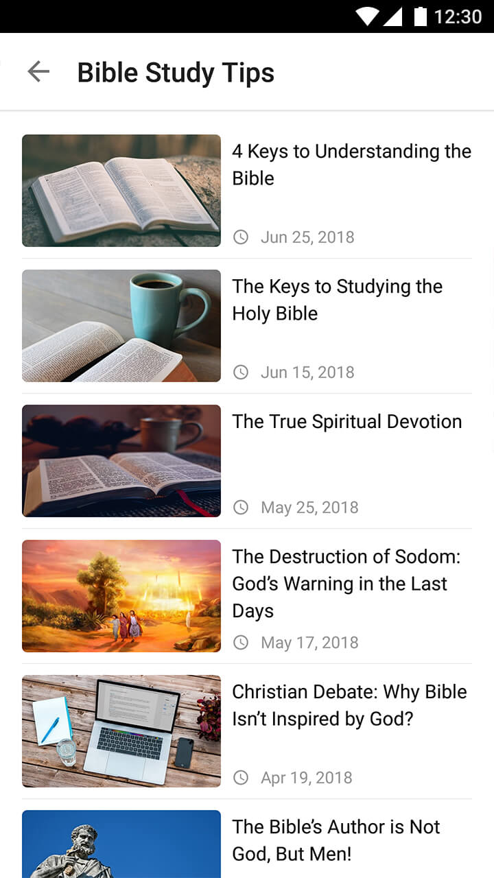 Bible Reading Made Easy APP—Read the Bible Anytime and Walk