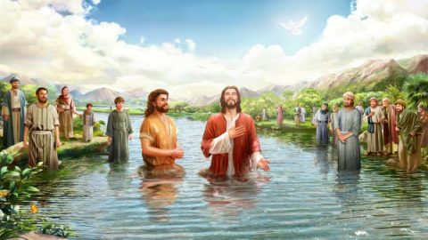 John the Baptist and Jesus