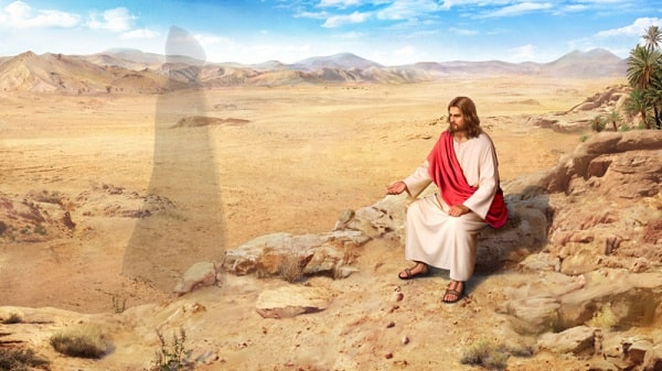 Jesus Christ said man shall not live by bread alone