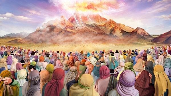 israel assembled at mount sinai