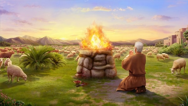 Job offered burnt offerings for his sons and daughters