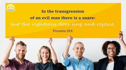 Proverbs 29:6