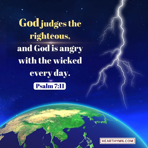 Psalm 7:11 – God Judges the Righteous