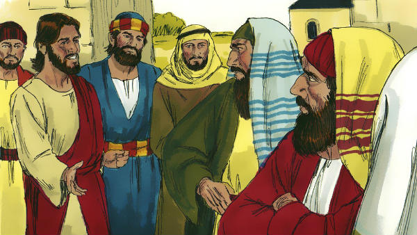 The pharisees crazily resisted and condemned Jesus Christ's work