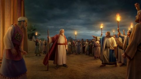 korah's rebellion 250 people Rebel moses