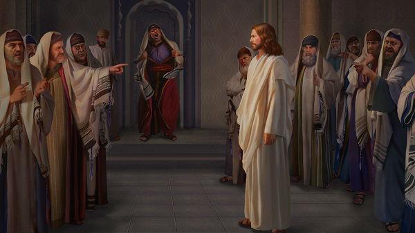 the jewish pharisees blasphemed the Lord Jesus