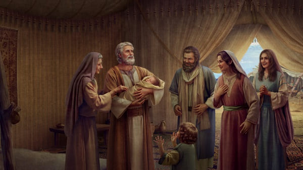 God bestow upon abraham a son