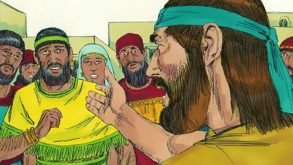 Jonah 3:1-4 - Jonah Preaches to the Ninevites That God Will Destroy Them - Bible Story