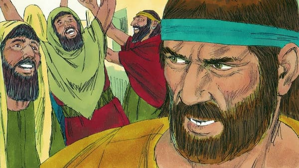 Jonah's Anger at the Lord's Compassion: Jonah 4:1-11