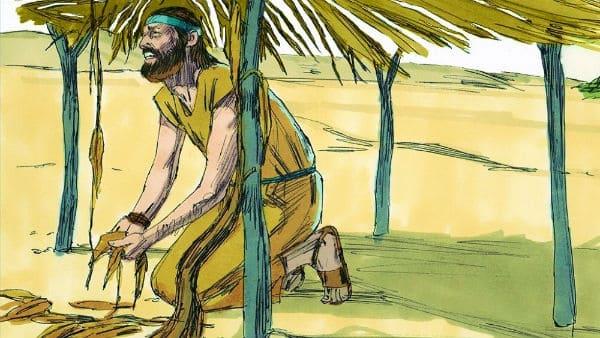 Jonah's anger for the gourd: Jonah 4:9-11