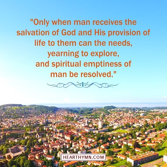 The Only Way to Resolve Man's Spiritual Emptiness - Truth Quote