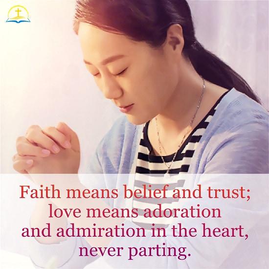 True Belief and Love