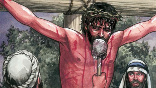 Jesus drank vinegar