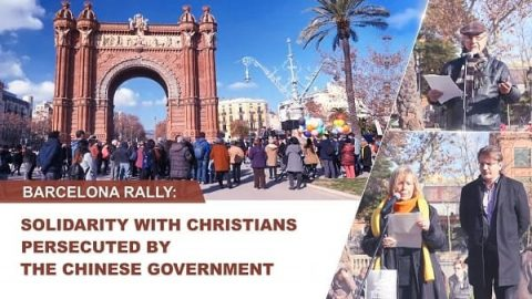 Barcelona Rally: Solidarity with Christians Persecuted by the Chinese Government