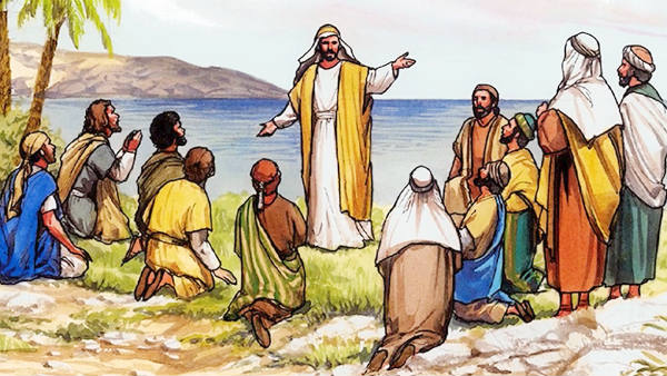 the Lord Jesus met with His eleven disciples in a mountain in Galilee and sent them to preach His teachings to the end of the world