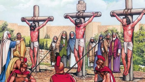 The Crucifixion of Jesus and the Death of Jesus: John 19:16–30