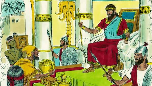 Solomon prayer delighted God, God grant Solomon wisdom and wealth