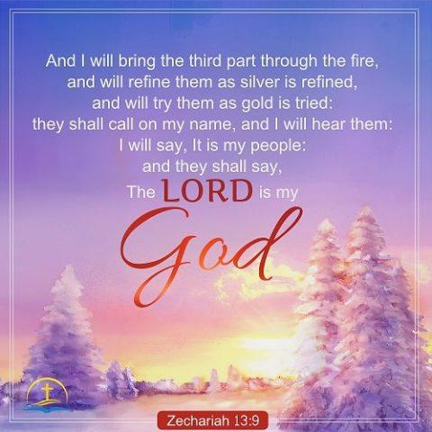 God's Refinement - Zechariah 13:9 - Daily Devotional