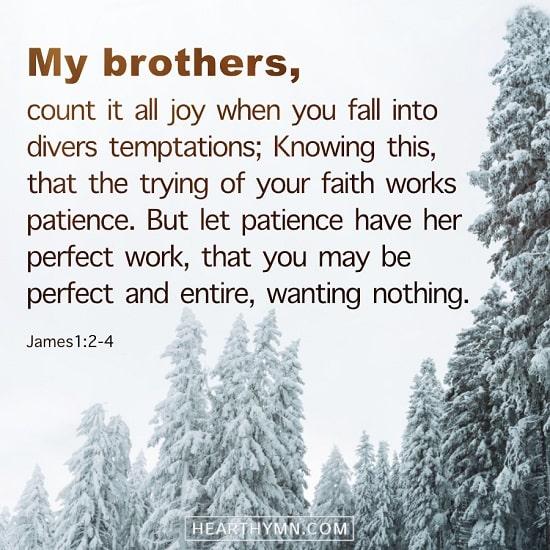 James 1:2–4