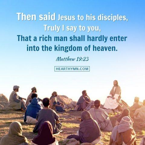 Matthew 19:23