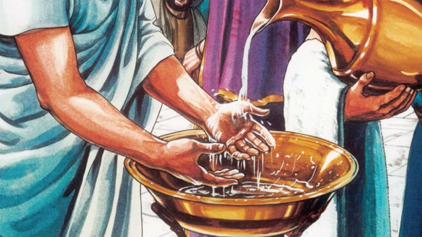 Pilate Washes his Hands: Matthew 27:24-26
