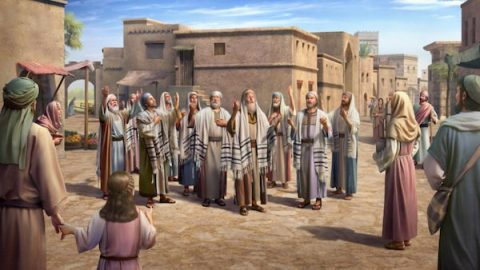 When the Pharisees prayed to God, He always bragged about what good deeds he had done