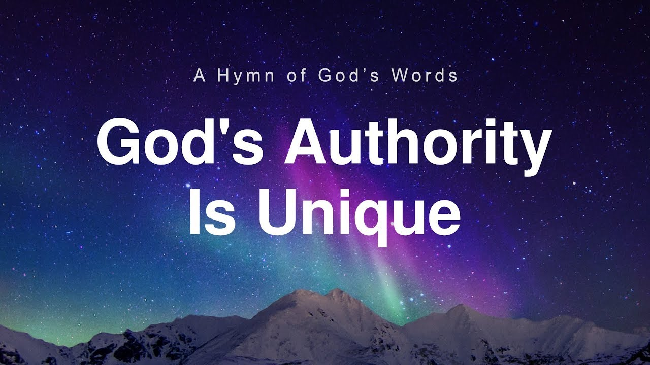 """""""God's Authority Is Unique"""": God Is Great"""