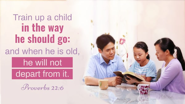 Proverbs 22:6 - Keys to teaching children
