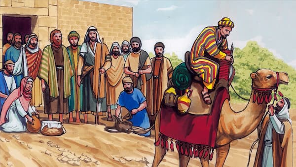 It is easier for a camel to go through the eye of a needle, than for a rich man to enter into the kingdom of God.