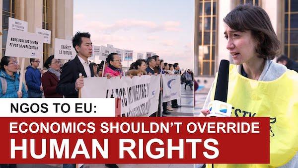 NGOs' Appeal at Xi Jinping's Visit to EU: Economics Shouldn't Override Human Rights
