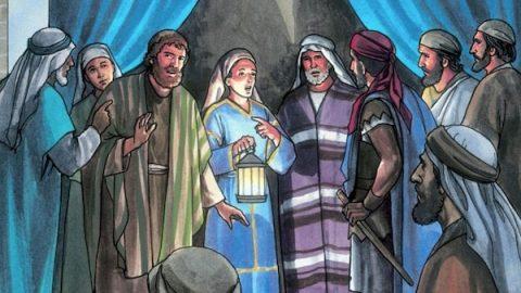 Peter Denies Jesus 3 Times: Matthew 26:69-75