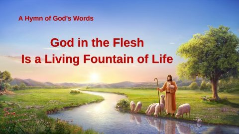 God in the Flesh Is a Living Fountain of Life (Lyrics)