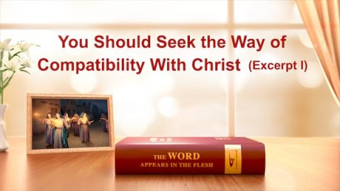 You Should Seek the Way of Compatibility With Christ (Excerpt 1)