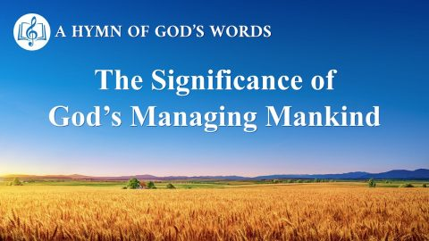 "2019 Gospel Song ""The Significance of God's Managing Mankind"": God's Love and Salvation for Man"