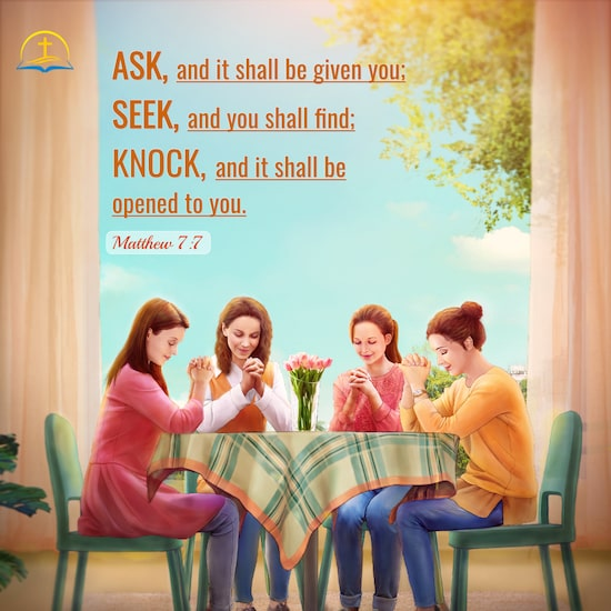 Matthew 7:7 - Seek and You Shall Find