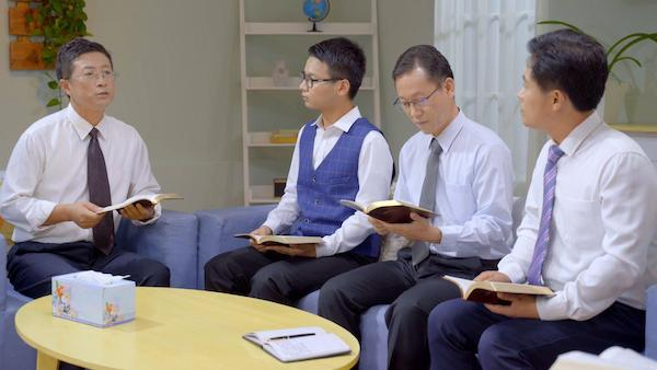 Christian fellowships, reading the Word of God