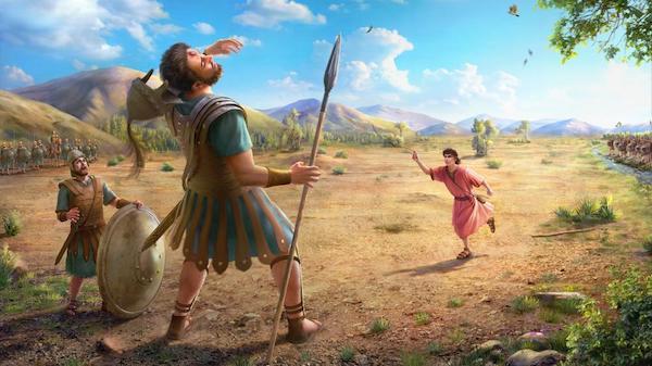 David defeated Goliath