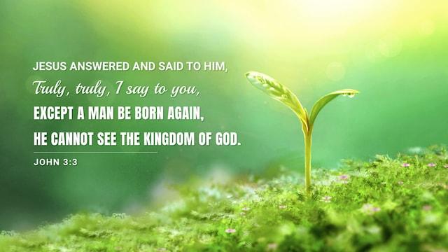 John 3:3 meaning