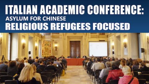 Italian Academic Conference Asylum for Chinese Religious Refugees Focused