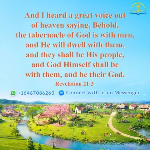 Revelation 21:3 - The Tabernacle of God Is With Men - Bible Quote